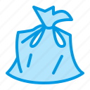 bag, garbage, trash, waste icon