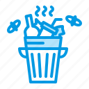 bin, garbage, trash, waste icon