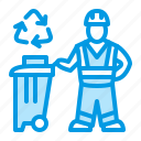 bin, cleaner, trash, waste icon