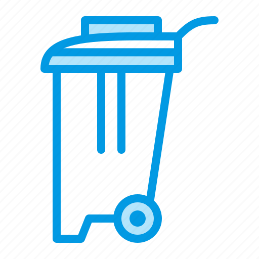 can, garbage, trash, waste icon