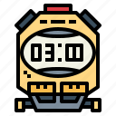 stopwatch, timer, tools, wait icon