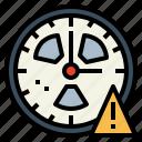 alert, clock, danger, warning icon