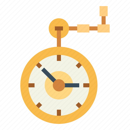 ancient, clock, pocket, retro, vintage, watch icon