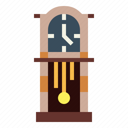 cabinet, clock, time, watch icon