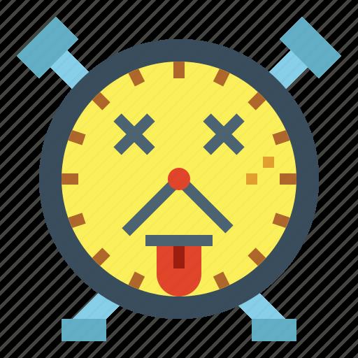 breakdown, broken, clock, death, fail icon