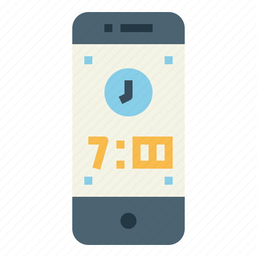Communications, smartphone, technology, time icon - Download on Iconfinder