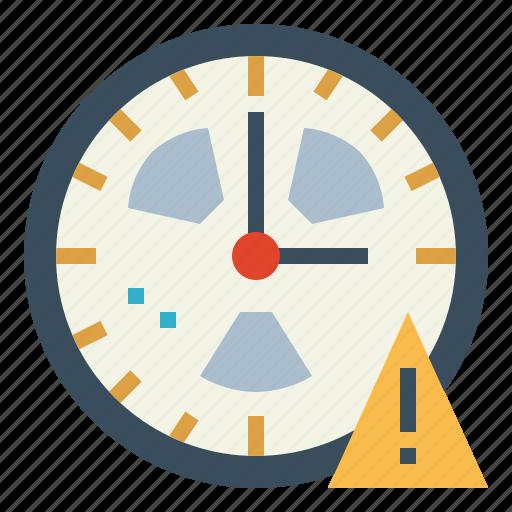 Alert, clock, danger, warning icon - Download on Iconfinder