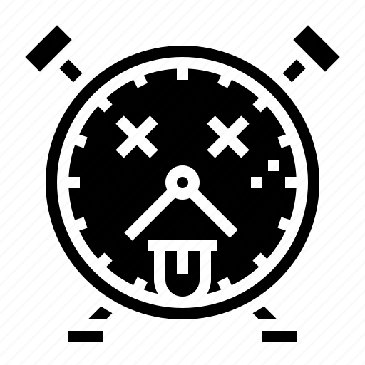 Breakdown, broken, clock, death, fail icon - Download on Iconfinder