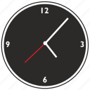 clocks, dark, watches icon