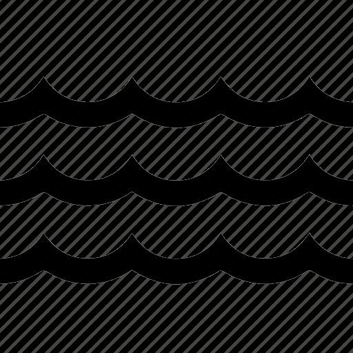 drink, fluid, h2o, liquid, ocean, water, wave icon