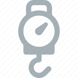 fishing, hanging, scales icon