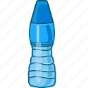 bottle, drink, gym bottle, mineral water, sports bottle, water bottle icon