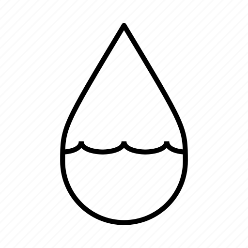 drop, ocean, pool, swimming, water droplet, water level, waves icon
