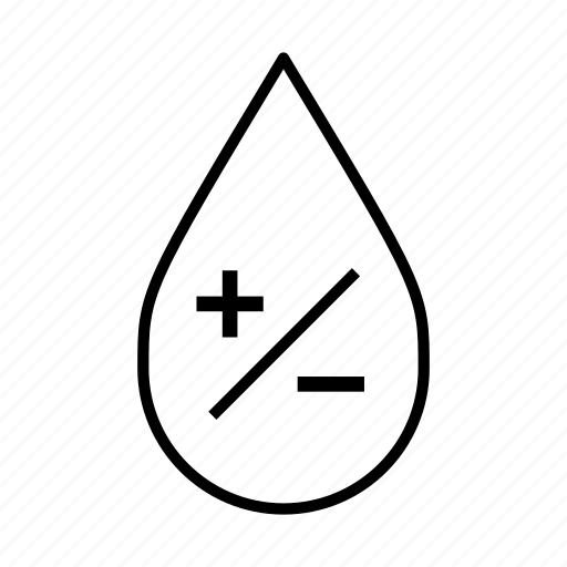 add, less, minus, more, plus, subtract, water droplet icon