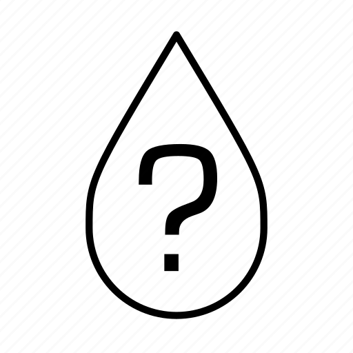 drought, missing, mystery, question, question mark, water droplet icon