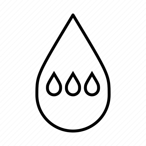 clean water, droplets, drops, pure, water, water droplet icon