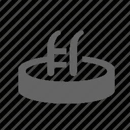 basin, pool, sport, stairs, swimming, water, waterpool icon