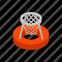basket, fun, handball, icometric, outdoor, pannier, polo icon