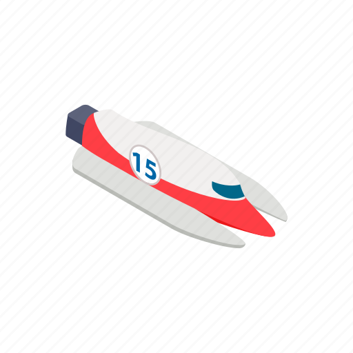 boat, cruise, fuel, isometric, motorboat, motoryacht, speedboat icon