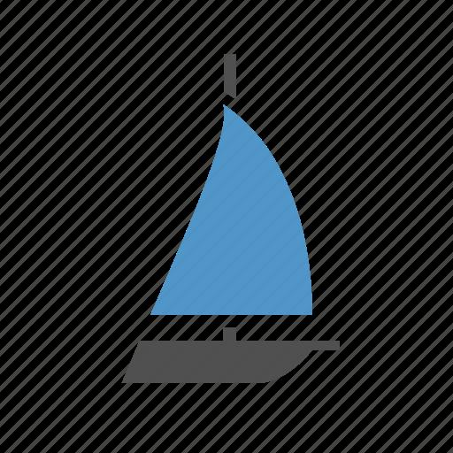 sail, sailboat, sport, travel, vacation, yacht, yachting icon