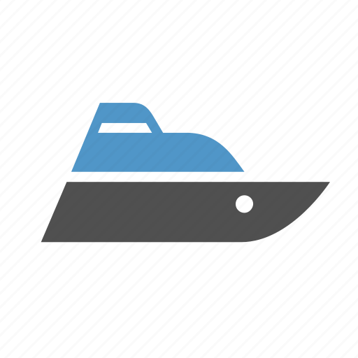jet ski, motorboat, ship, speed boat, sport, transport, water scooter icon