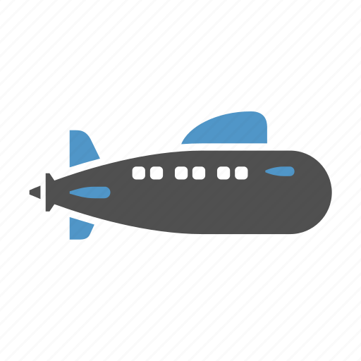 boat, marine, ship, submarine, transport, underwater, water vehicle icon