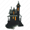 building, evil, halloween, haunt, haunted, home, horror, house, scary, spooky, victorian icon