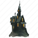 building, evil, halloween, haunt, haunted, horror, house, scary, victorian icon