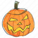 evil, face, halloween, jack-o-lantern, lantern, light, pumpkin, scary, smile icon