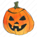 evil, face, halloween, jack, jack-o-lantern, pumpkin, smile, trick-or-treat icon