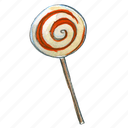 candy, lollipop, sweet, treat, trick-or-treat icon