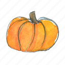 autumn, fall, halloween, harvest, pumpkin, squash, thanksgiving icon