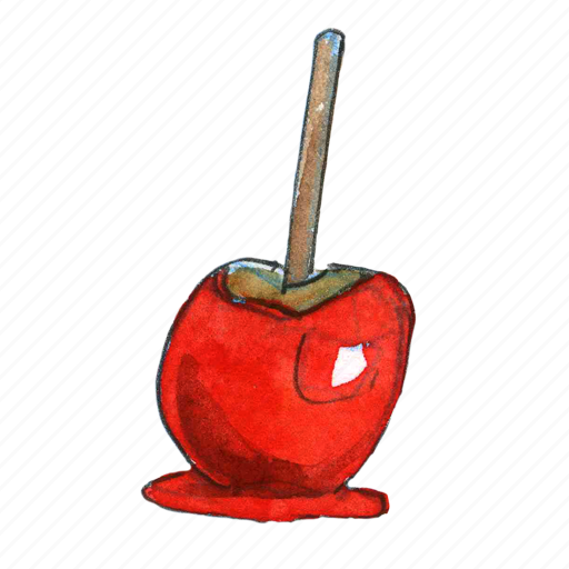 apple, candy, fall, poison, snack, treat, trick-or-treat icon