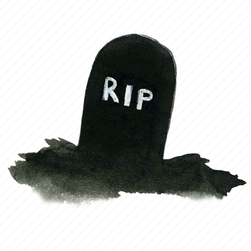 cemetery, dead, death, evil, grave, gravestone, graveyard, halloween, rip, scary, spooky, stone, tomb, tombstone icon