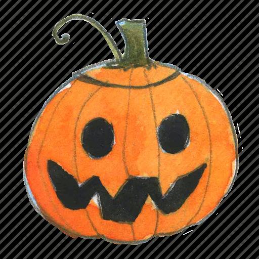 face, halloween, happy, jack, jack-o-lantern, lantern, pumpkin, scary, smile, smiley, squash, trick-or-treat icon