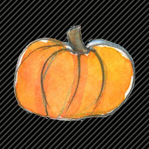 autumn, fall, halloween, harvest, pumpkin, squash, thanksgiving icon