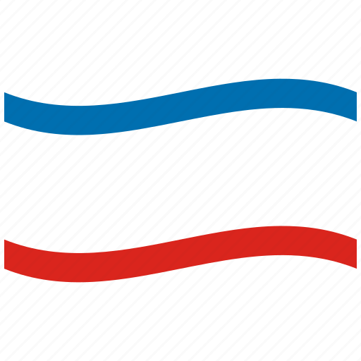 autonomous, crimea, flag, republic, waving flag, white icon