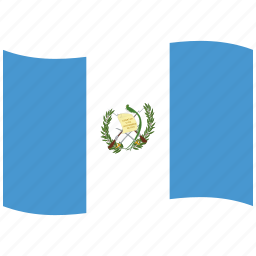 flag, gt, guatemala, state, war, waving flag icon