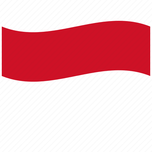 id, indonesia, indonesian flag, sacred, waving flag, white-red icon