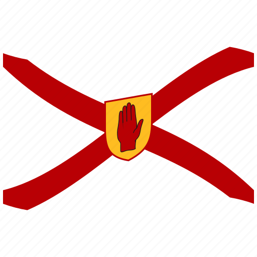 golden, ireland, irish flag, northern, saint patrick s, shield, waving flag icon