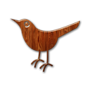 animal, bird, birdo, twitter, wood icon