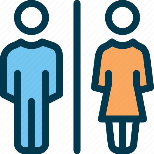 female, gent, lady, male, man, wayfind, wc icon