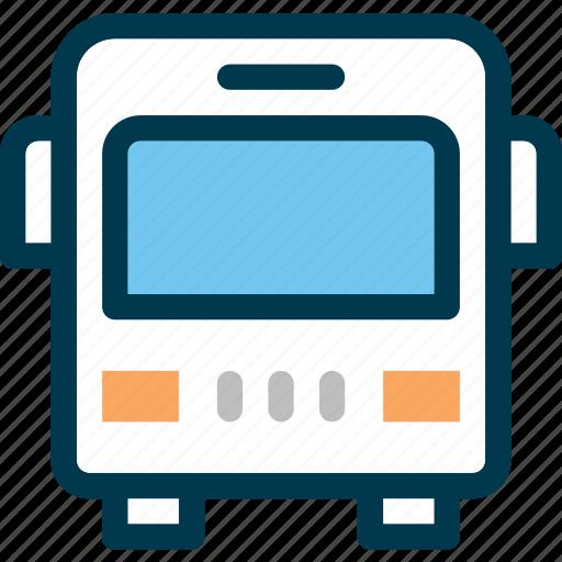 bus, shuttle, transport, vehicle, wayfind icon
