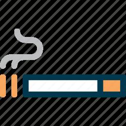 cigarette, smoke, smoking, wayfind icon