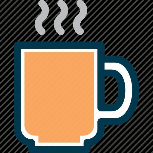 beverage, cafe, cup, drink, hot, wayfind icon
