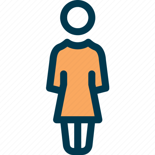 female, human, lady, person, wayfind, woman icon