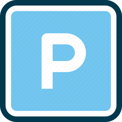 car, parking, place, wayfind icon