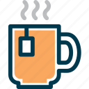 beverage, cafe, cup, drink, hot, tea icon