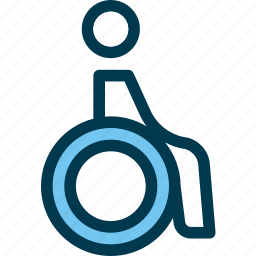 accessibility, chair, disabled, wayfind, wheelchair icon