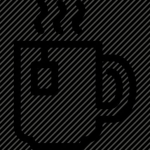 beverage, cafe, cup, drink, hot, tea icon